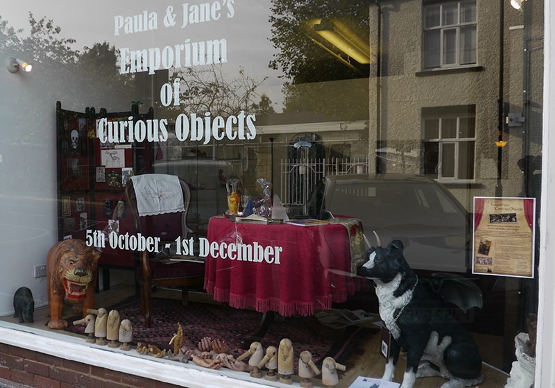 Paula and Jane's Emporium of Curious Objects exhibition 2012