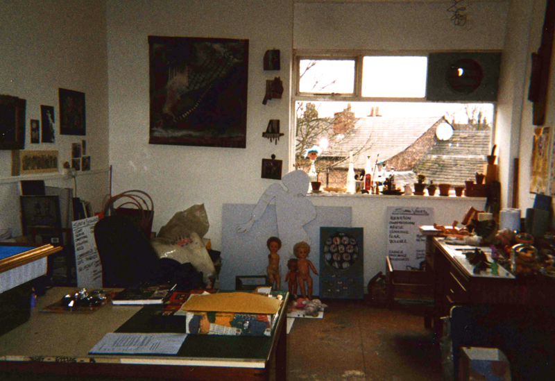 My old studio 2001
