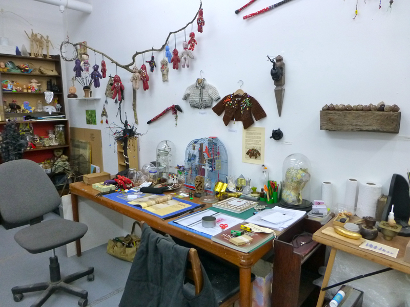 Tidy for Open Studios September 2013