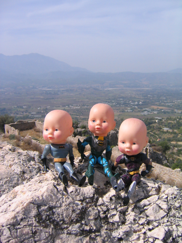 24 Batboys with view Tlos Turkey 2004