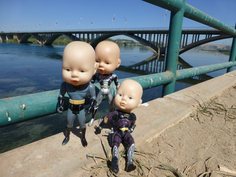 Batboys return to the mighty Euphrates River