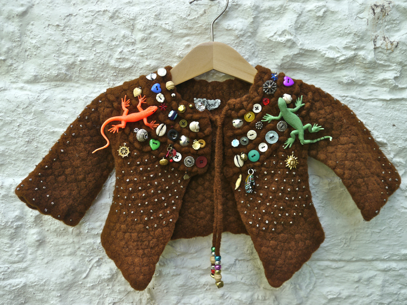 Child's Apotropaic Jacket-40x50x8cm
