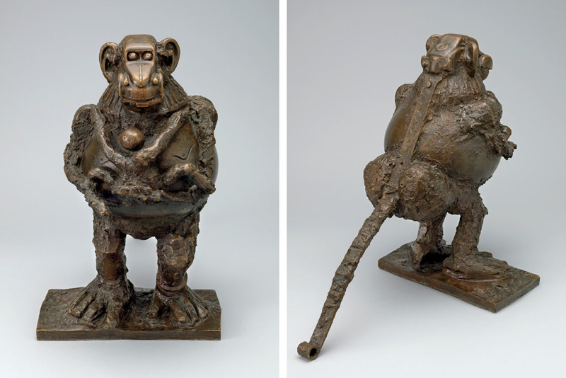 Picasso-Baboon